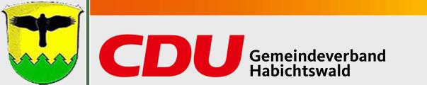 Logo von CDU Habichtswald