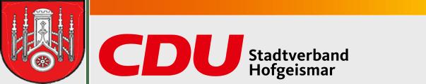 Logo von CDU Hofgeismar