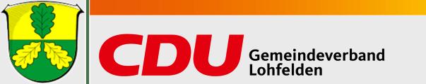 Logo von CDU Lohfelden