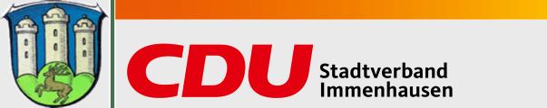 Logo von CDU Immenhausen