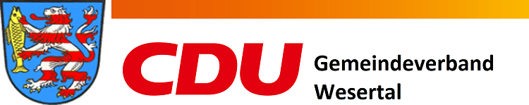 Logo von CDU Wesertal